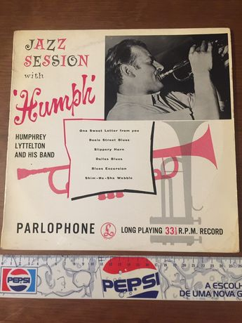 Disco vinil: Humphrey Lyttelton and his band - Jazz Sessions 1957