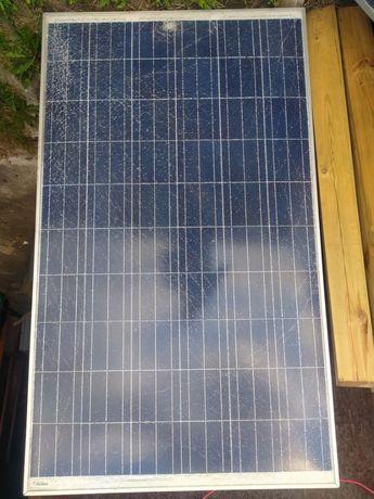 7 paneli pv ze zbitą szybą - Selfa 240 kwp