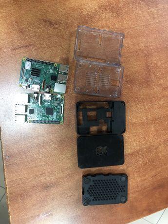 Raspberry pi 3 dwie sztuki plus obudowy
