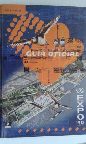 Guia da EXPO 98 como novo em português