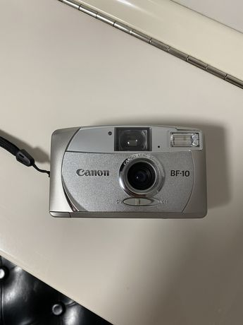 Пленочный фотоаппарат,мыльница canon BF-10