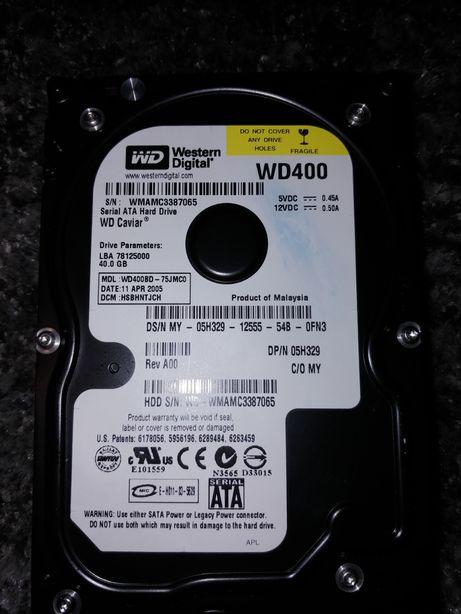 Dysk Ata WD 40GB 3,5'