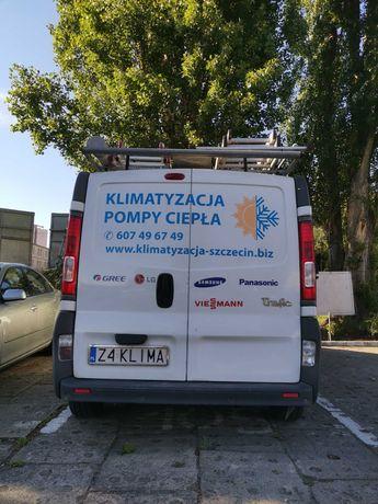 Klimatyzacja montaż Szczecin okolice.