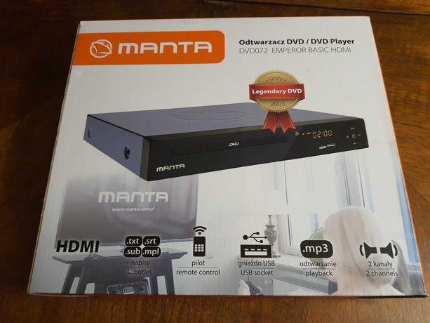 Odtwarzacz Manta DVD 072 EMPEROR BASIC HDMI jak nowy