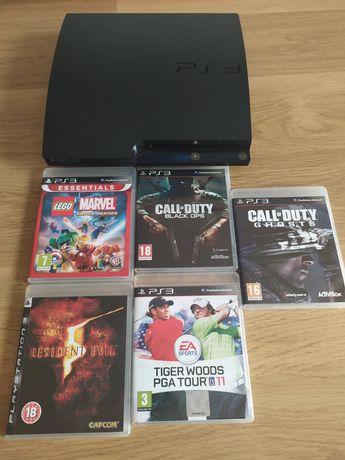 consola ps3 + jogos