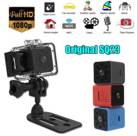 Мини видеокамера SQ23+AQUA-BOX Wi-Fi 1080P Full HD DVR SQ11 SQ12