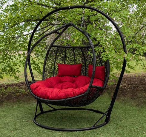 Подвесное кресло кокон, качеля садовая Галант. Гамак от производителя.