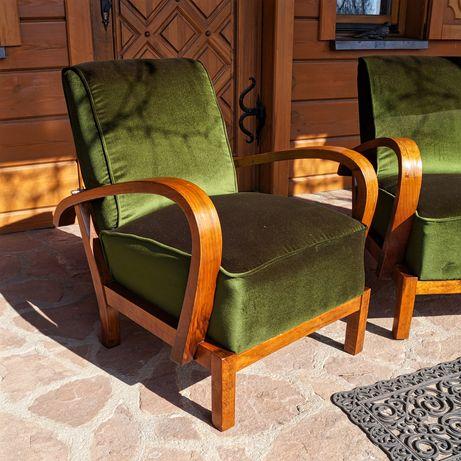 Fotele Art Deco Lata 30 Projektowe Henryk Filipek