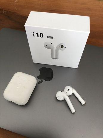 TWS i10 jak Apple Airpods słuchawki bezprzewodowe BT