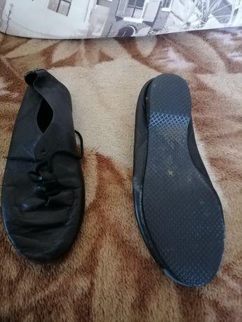 Танцевальные туфли без каблука