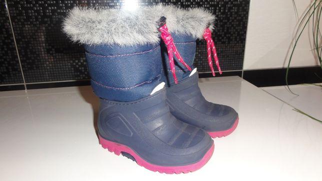 Buciki śniegowce 4F rozmiar 24