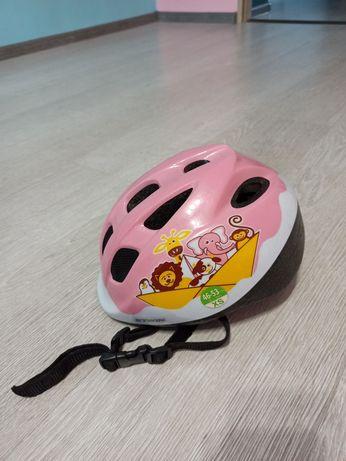 Kask dziewczęcy rowerowy