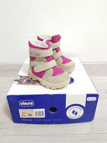 Зимние ботинки Chicco 21, сапоги 13см, сапожки Чико geox superfit