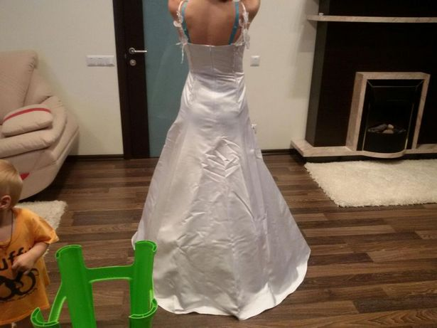 Свадебное платье для хрупкой девушки