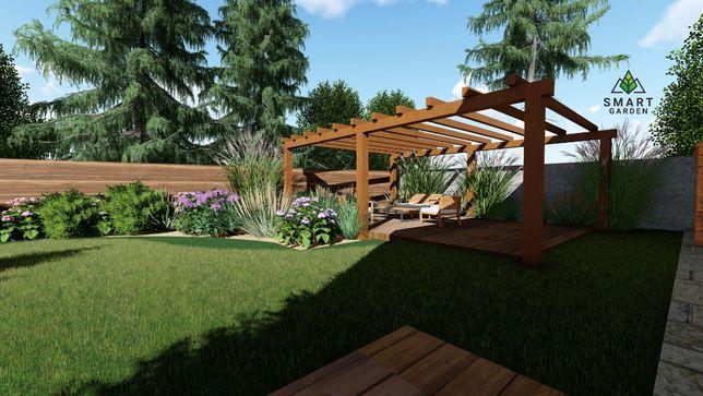 OGRODY : Projektowanie, zakładanie i pielęgnacja ogrodów nawadnianie.
