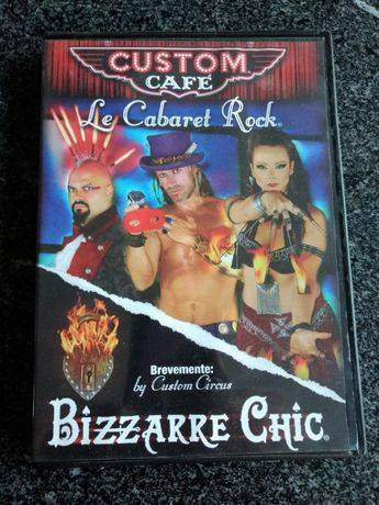 Custom Cafe - Le Cabaret Rock CD - Novo