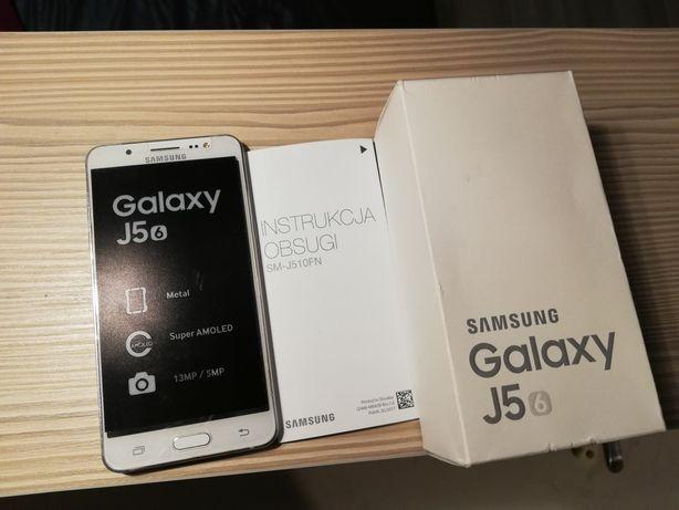 Samsung Galaxy J5(6) SM-J510FN IDEAŁ+3szt.Etui+Szkło hartowane GRATIS