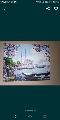 Картина Стамбульское побережье