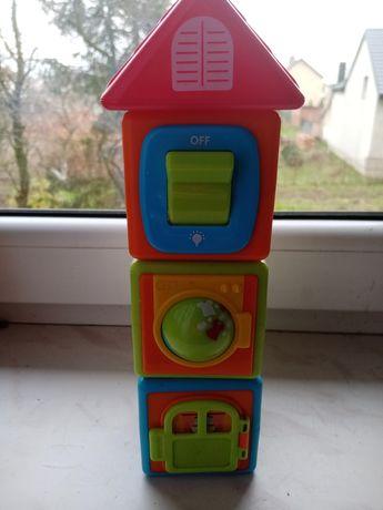 Zabawka edukacyjna klocki