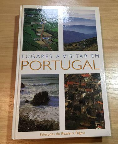 Livro Lugares a visitar em Portugal Selecções do Readers Digest
