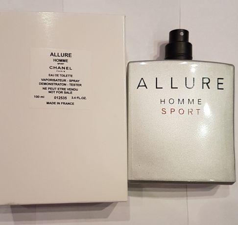 Тестер Allure Homme Sport chanel оригинал шанель аллюр хом спорт аллюр