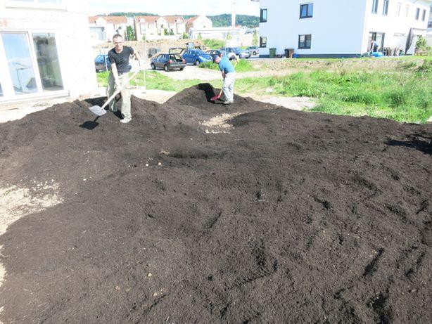 K0 PIĘKNA Ziemia do zakładania trawników humus 20 TON Dostawa Gratis