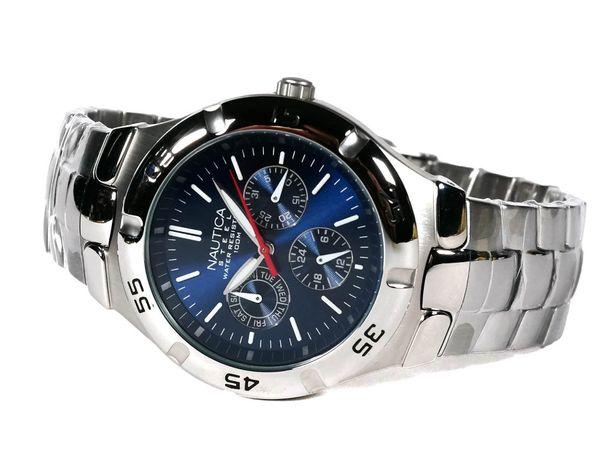 Часы Nautica N10061 (Timex) нержавеющая сталь. 100% оригинал.