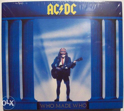 "Продам CD: AC/DC ""Who Made Who"" (1986)"
