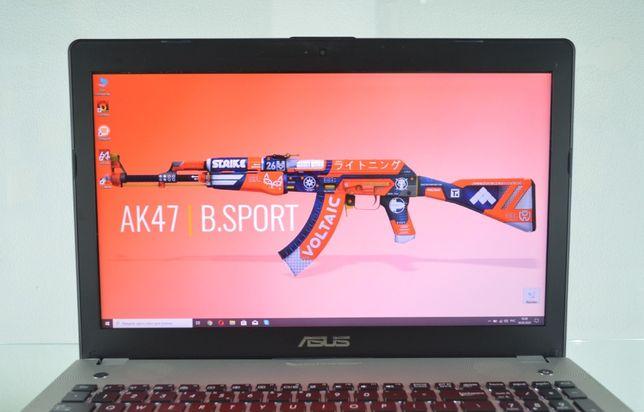 Алюминиевый игровой ноутбук высокого качества. ASUS N56. SIGMA