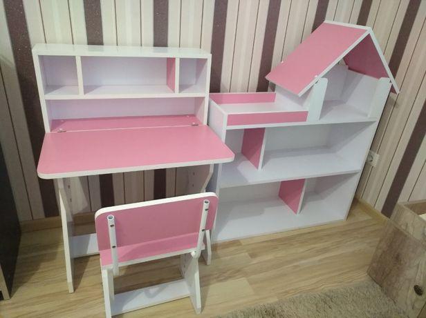 Дитячі меблі - стіл, стільчик, парта, будиночок шафа купити в Україні