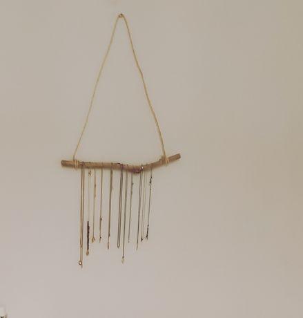Faço e vendo estruturas feitas com galhos de árvores