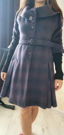 Пальто натуральное теплое