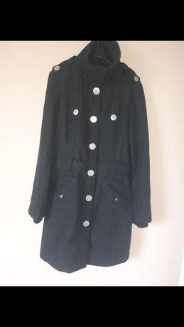 Ciemno szary płaszczyk Vero moda