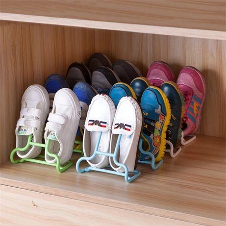 Suporte calçado criança p/ armário - NOVO - embalado!