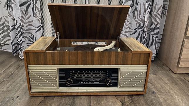 Виниловый проигрыватель радиола Рекорд — 66 под восстановление