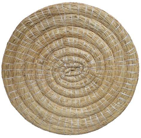 Mata łucznicza słomiana Ø 60 cm, tarcza łucznicza