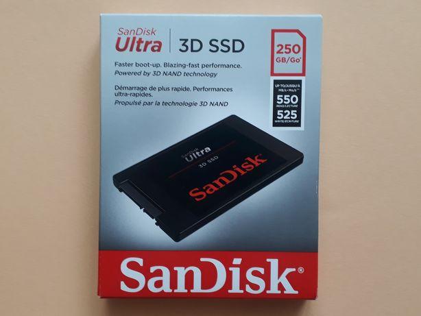 SSD SanDisk Ultra 3D 250 GB