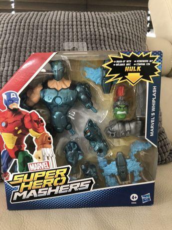NOWY Hasbro Super Hero Mashers Hulk whiplash
