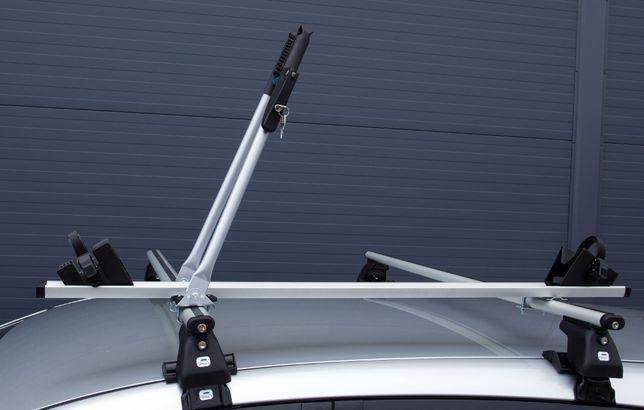 Bagażnik uchwyt rowerowy aluminiowy na dach Amos Tour