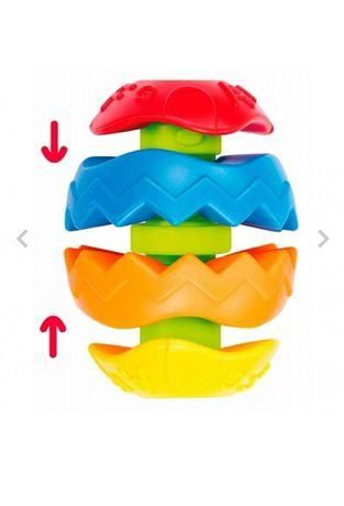Развивающий мяч-пирамидка от 10 мес.