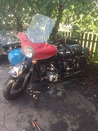 Мотоцикл с коляской Днепр МТ 1036