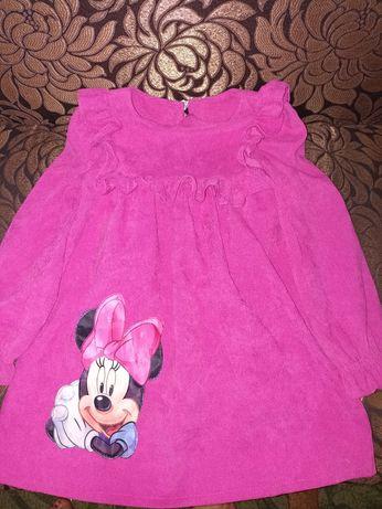 Платье 3 год,платья 104 р,сукня,платье Минни,нарядное платье