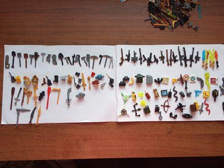Конструктор Лего оружия аксессуары