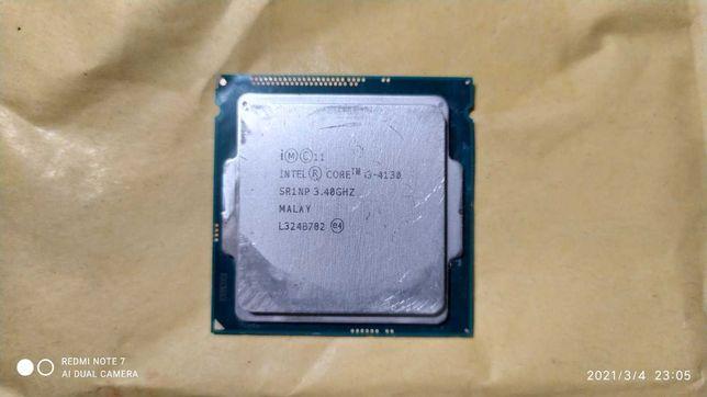 Процессор Intel Core i3-4130 3.4GHz/5GT/s/3MB s1150 б/у