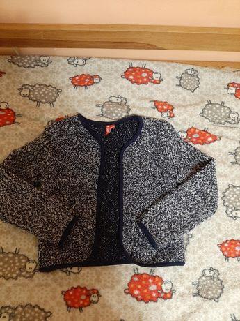 Трикотажный школьный пиджак