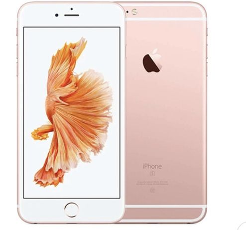 iPhone 6s rosa na caixa , desbloqueado, c acessorios
