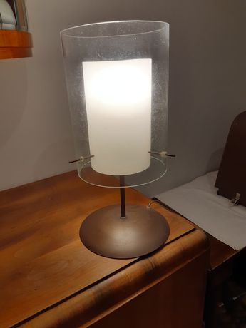Lampa na biurko, stolik