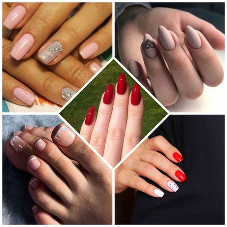 Модельки на нарощення нігтів,покриття гелем,гель-лаком,манікюр,педикюр