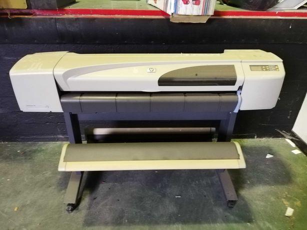 Impressora Ploter HP 500 Papel Rolo A0