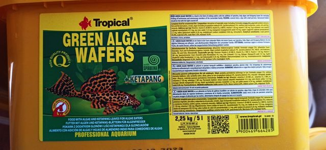 Корм Green Algae Wafers
